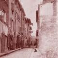 Rue de l'Échelle (Marseille), en 1913. DR.