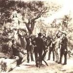 Fondation du Félibrige à Font-Ségugne (1854)