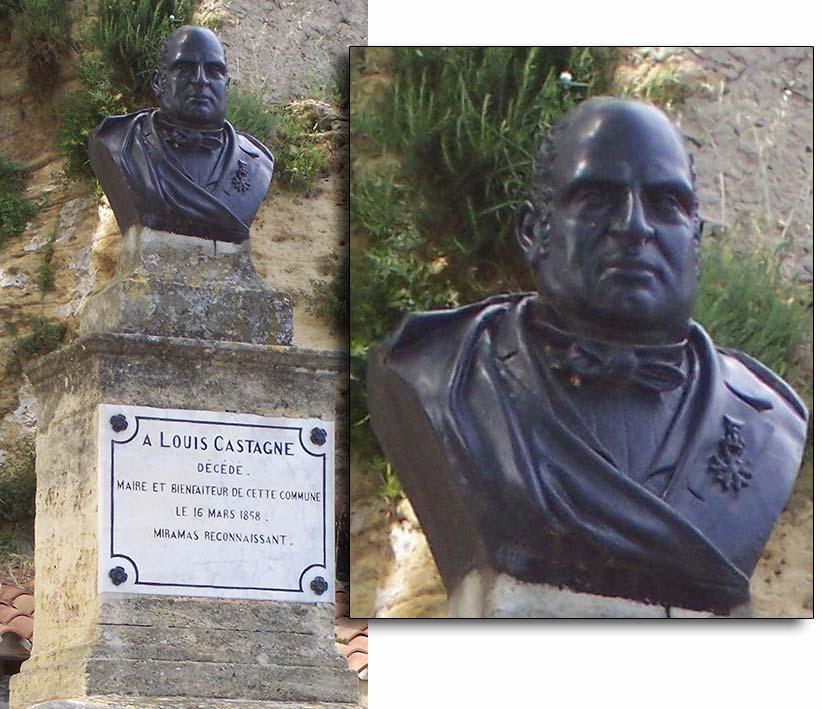 Le monument Castagne© Sébastien Avy, 2013.