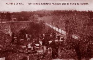 Le rucher du curé de Meyreuil (Bouches-du-Rhône).