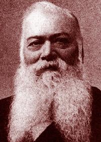 Frédéric Euzières, maire de 1878 à 1896. DR.