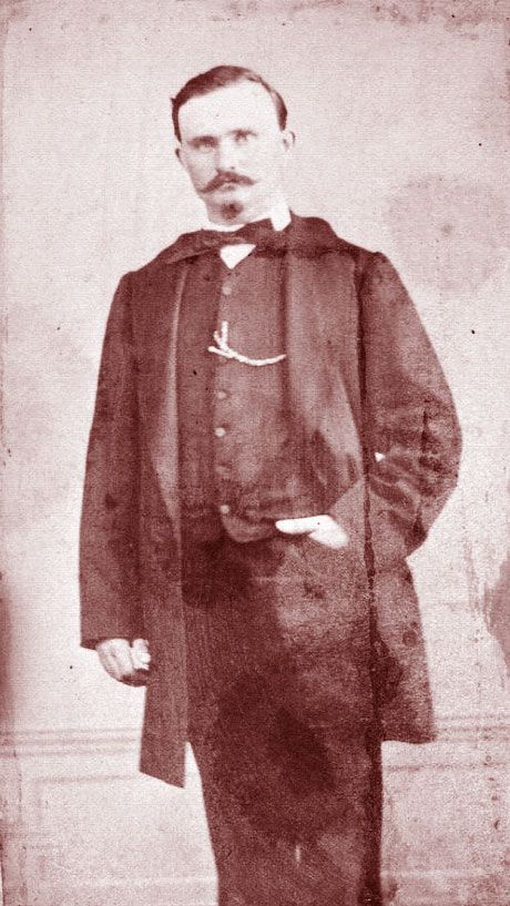 Alphonse Tavan vers 1860. Photographie Henry & Barthélemy (Marseille).
