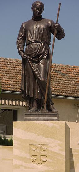Statue de saint Gens à Monteux. © Marie-Laure Boestch.