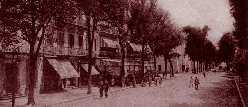 Boulevard de l'Esplanade (Draguignan). DR.