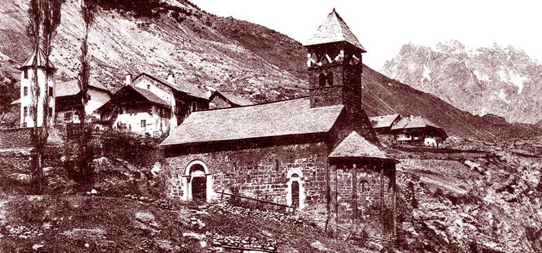 Chapelle Saint-Jean à L'Argentière-la-Bessée. DR.
