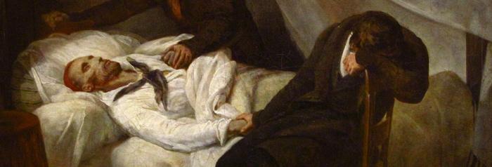 Ary Scheffer, La Mort de Géricault, 1824, musée du Louvre, Paris.