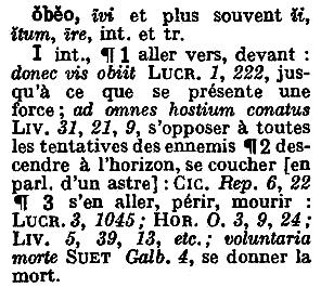 F. Gaffiot, Dictionnaire latin-français, Hachette, Paris, 1934, p. 1052.