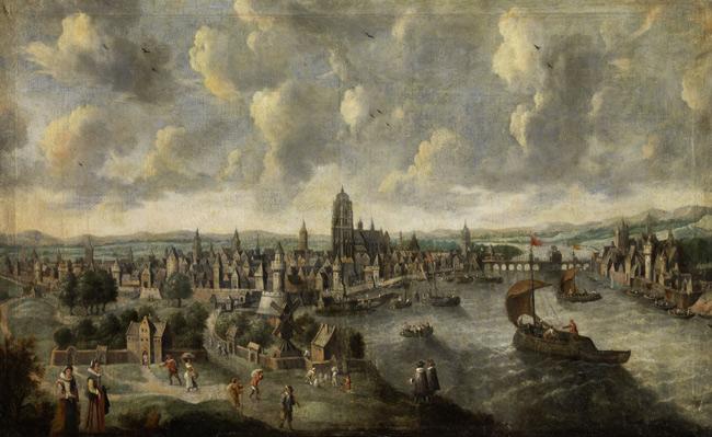 Francfort, dans la Hesse, à la fin du XVIIe siècle.