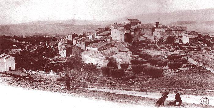 Village de la Bastidonne où est passé Loneux quelques minutes avant sa mort. DR.