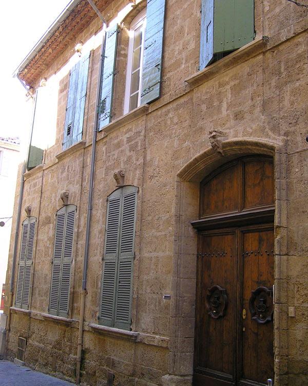 L 39 h tel des suffrens salon de provence g n provence for Hotel de ville salon de provence