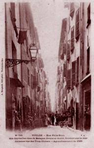 Rue Félix-Brun (Toulon). DR.