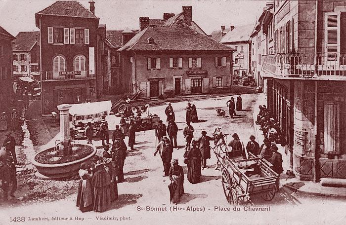 Scène de vie à Saint-Bonnet-en-Champsaur. DR.