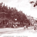 Le terminus du tramway à l'Estaque. DR.