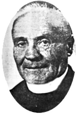 Portrait du père Victor Sarrazin. DR.