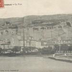 Vue des baumes de la colline du Baou à Saint-Chamas (13). Coll. privée Sébastien Avy.