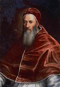 Le pape Jules III.