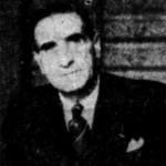 Un autre portrait de Geo Malleval, semble-t-il en 1936. DR.