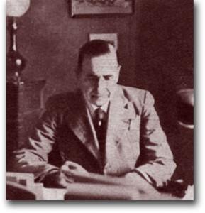 Géo Mallevalle, procureur de la République, en 1935. Photo : © Le Détective, n°373. DR.