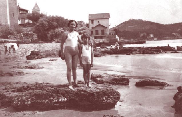 Une plage de La Ciotat en 1934. DR.