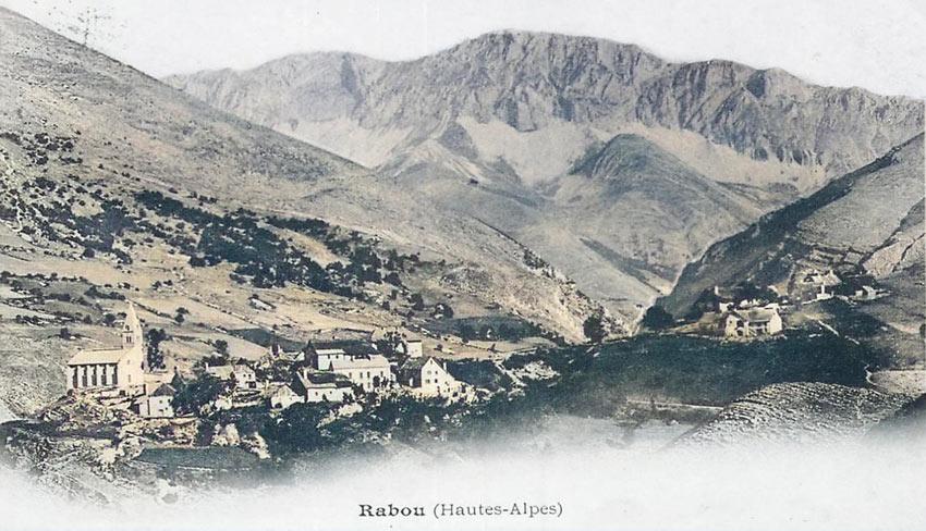 Rabou une dizaine d'années après la mort de Chambon. DR.