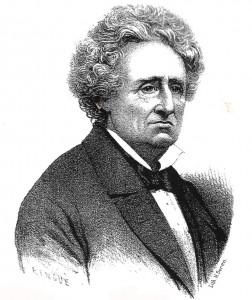 Le procureur Albin Thourel (1800-1880). Lith. Seren. DR.