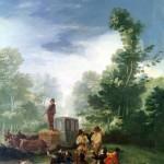 Attaque d'une diligence, Francisco de Goya, 19e siècle, DR.