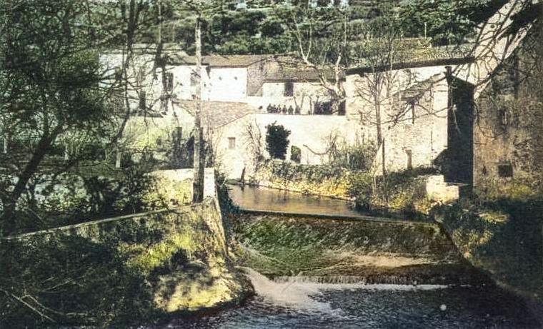 Le Gapeau à son passage à Belgentier. DR.