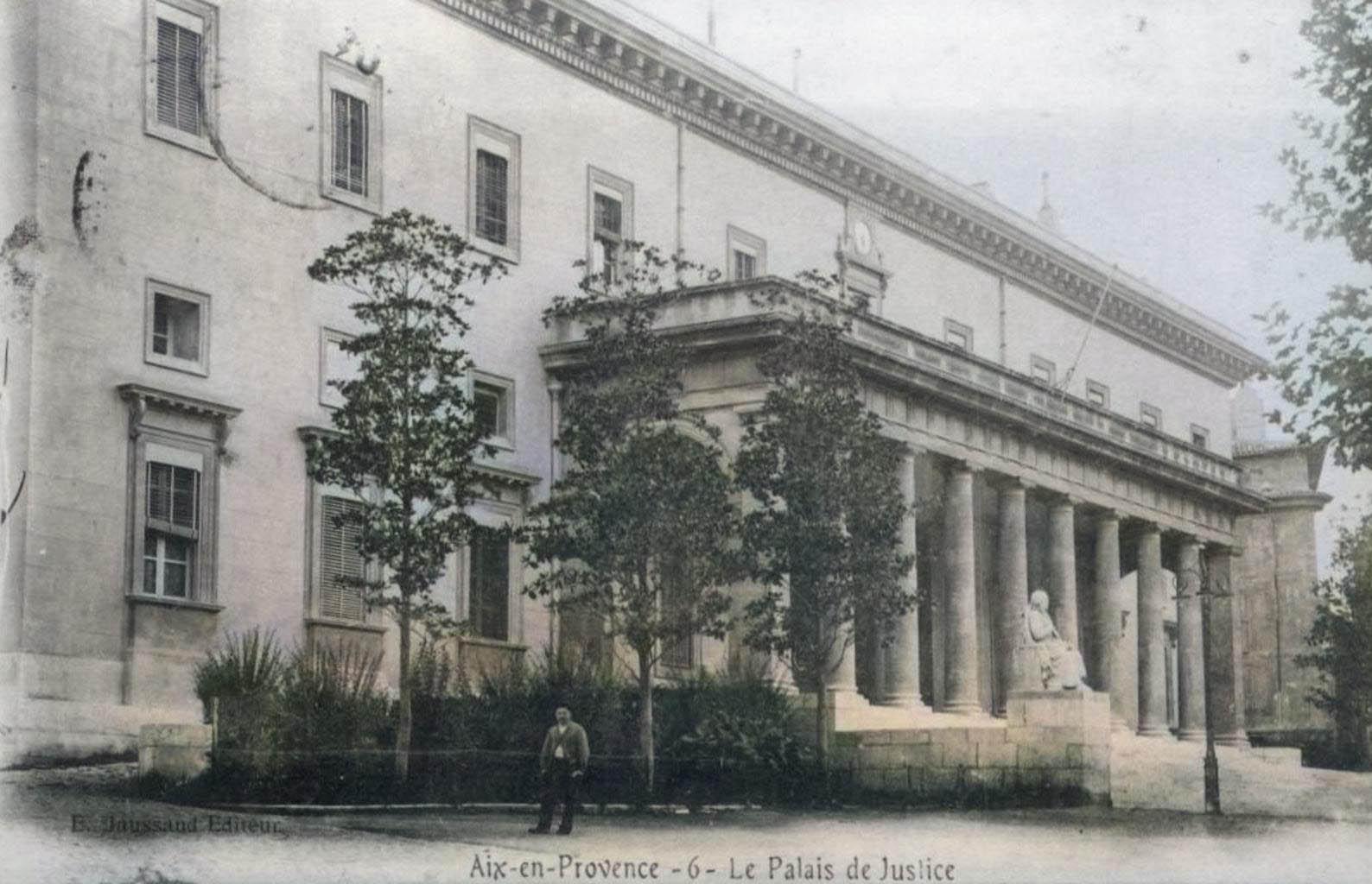Le palais de justice d'Aix-en-Provence. DR.
