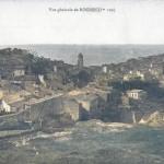 Vue générale de Rognes vers 1910. DR.