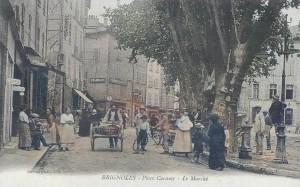 Place Caramy, à Brignoles. DR.