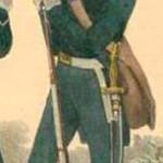 Un garde forestier en 1841. DR.