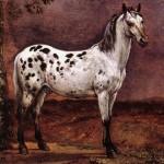 Le cheval tacheté, Paulus Potter, 1653, Musée du Louvre.