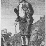 Portrait d'Annibal Camoux, in Le Socrate marseillais, 1773, gravure de Déjean d'après un dessin d'Henry.
