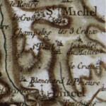 Lincel, sur la carte de Cassini. DR.