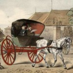 Cabriolet XIXe s. Auteur inconnu.