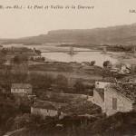 Paysage de Mallemort en direction d'Orgon. DR.
