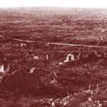 Vestiges de la bataille du Mort-Homme en 1916.