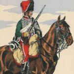 V. Huen, Hussard français du 8e régiment, s. d. DR.