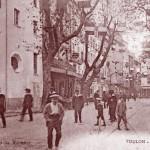 Toulon, rue de l'Arsenal. DR.