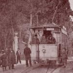 Station du tramway , ligne Cap-Brun-Toulon. DR.