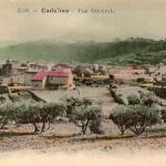 Vue générale de Cadolive au début du XXe siècle. DR.