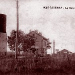 La gare de Mas-Thibert vers 1914. DR.