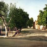 Boulevard Sinéty, à Céreste. DR.